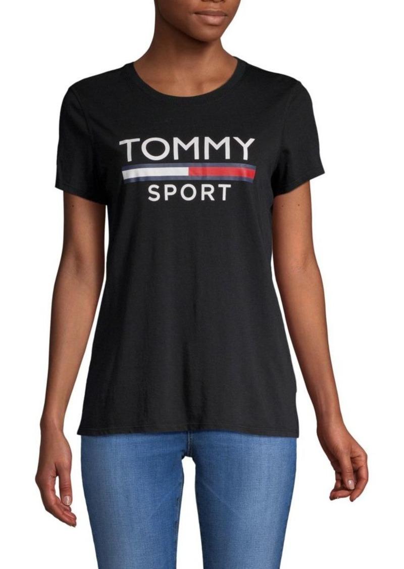 caaf16df2 Tommy Hilfiger Logo Short-Sleeve Tee   Tees