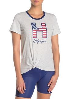 Tommy Hilfiger Logo Side Knot T-Shirt
