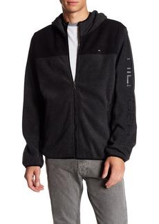 Tommy Hilfiger Logo Sleeve Fleece Hoodie