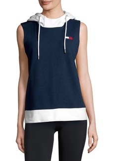 Tommy Hilfiger Logo Sleeveless Hoodie