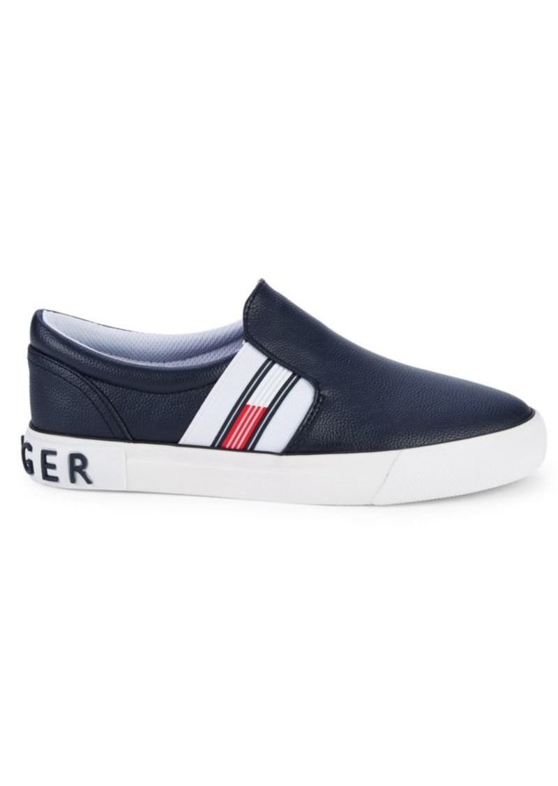Tommy Hilfiger Logo Slip-On Sneakers