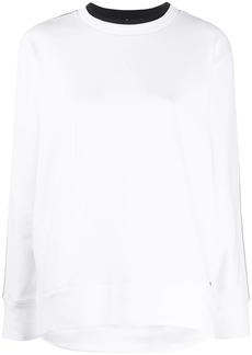 Tommy Hilfiger logo trim sweatshirt