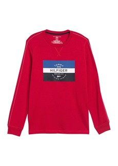 Tommy Hilfiger Long Sleeve Logo Crew Neck T-Shirt