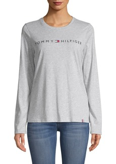Tommy Hilfiger Long-Sleeve Logo Tee