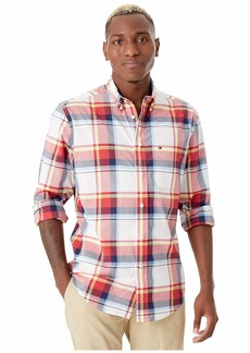Tommy Hilfiger Long Sleeve Mayfield Plaid Shirt