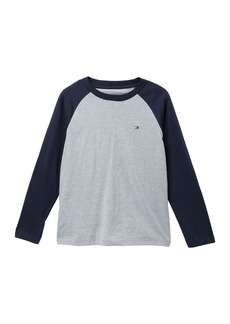 Tommy Hilfiger Long Sleeve Raglan Tee (Big Boys)