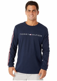 Tommy Hilfiger Long Sleeve T-Shirt with VELCRO® brand closure at shoulders