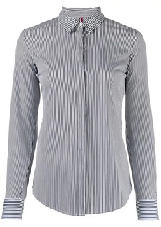 Tommy Hilfiger long sleeved striped shirt