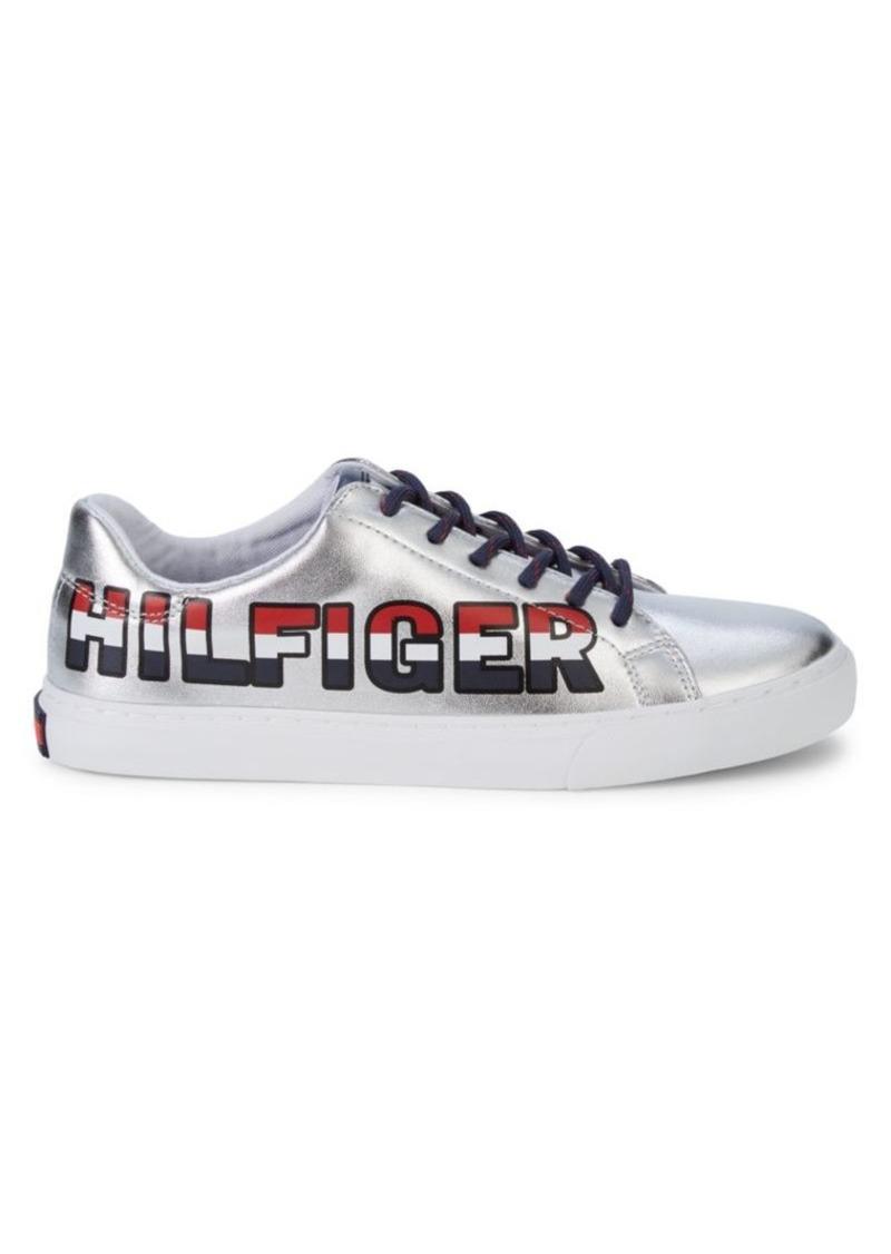 Tommy Hilfiger Loni Metallic Logo Sneakers