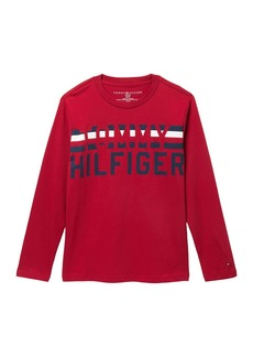 Tommy Hilfiger Long Sleeve T-Shirt (Big Boys)