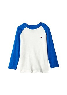 Tommy Hilfiger Luis-Bex Jersey Long Sleeve Tee (Big Kids)