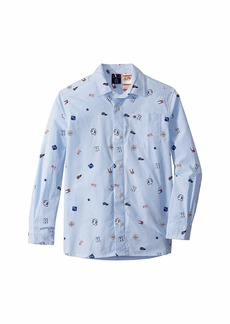Tommy Hilfiger Magnetic Button Down Shirt (Little Kids/Big Kids)