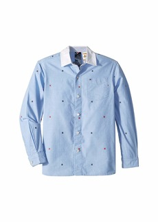 Tommy Hilfiger Magnetic Button Shirt (Little Kids/Big Kids)Shirt