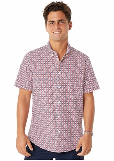 Tommy Hilfiger Magnetic Short Sleeve Custom Fit Button Shirt