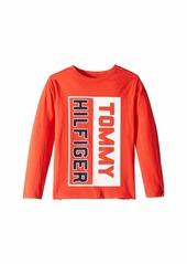 Tommy Hilfiger Matt Long Sleeve Crew Neck Shirt (Big Kids)