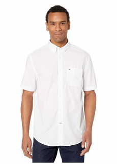 Tommy Hilfiger Maxwell Short Sleeve Button Down Shirt