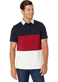 Tommy Hilfiger Merrit Polo Shirt with Magnetic Buttons Custom Fit
