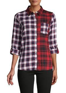 Tommy Hilfiger Mixed Plaid Shirt