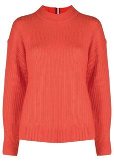 Tommy Hilfiger mock neck knitted jumper