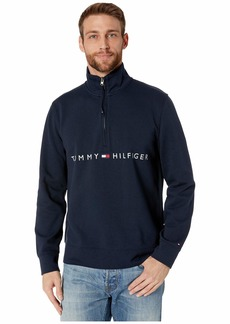 Tommy Hilfiger Mock Neck with Extended Half Zipper Pull