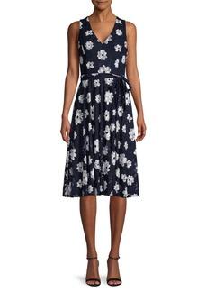 Tommy Hilfiger Moody Floral-Print Dress