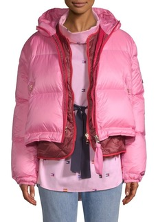 Tommy Hilfiger Multicolor Double Down Puffer Coat