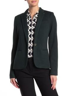 Tommy Hilfiger Notch Collar Elbow Patch Blazer (Regular & Plus Size)