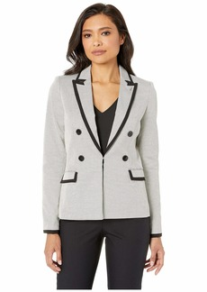 Tommy Hilfiger Novelty Double Breasted Open Jacket