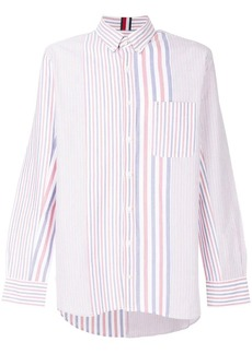 Tommy Hilfiger oversized striped shirt