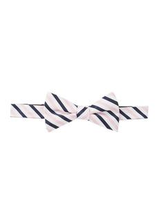 Tommy Hilfiger Oxford Stripe Pre-Tied Bow Tie