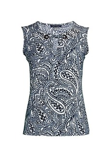 Tommy Hilfiger Paisley Sleeveless Top