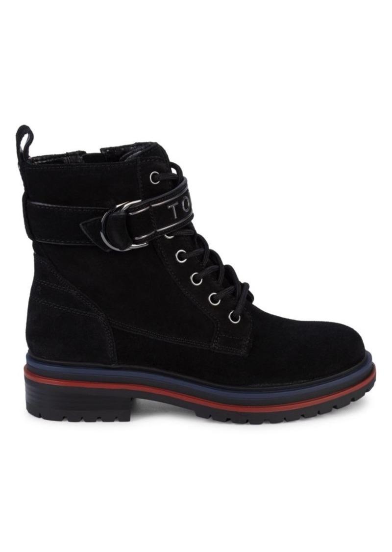 Tommy Hilfiger Parsins Suede Combat Boots
