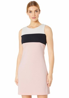 Tommy Hilfiger Pique Scuba Color Block Dress