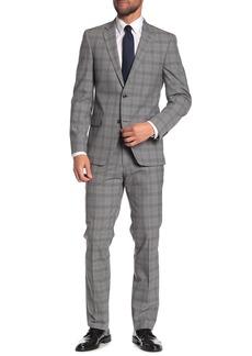 Tommy Hilfiger Plaid Print 2-Piece Suit
