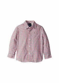 Tommy Hilfiger Plaid Woven Shirt (Little Kids/Big Kids)