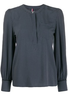 Tommy Hilfiger polka dot long sleeved blouse