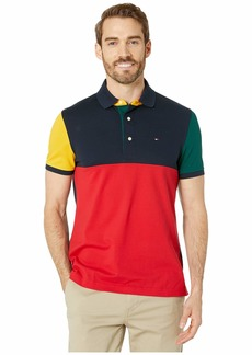 Tommy Hilfiger Polo Shirt with Magnetic Buttons Custom Fit