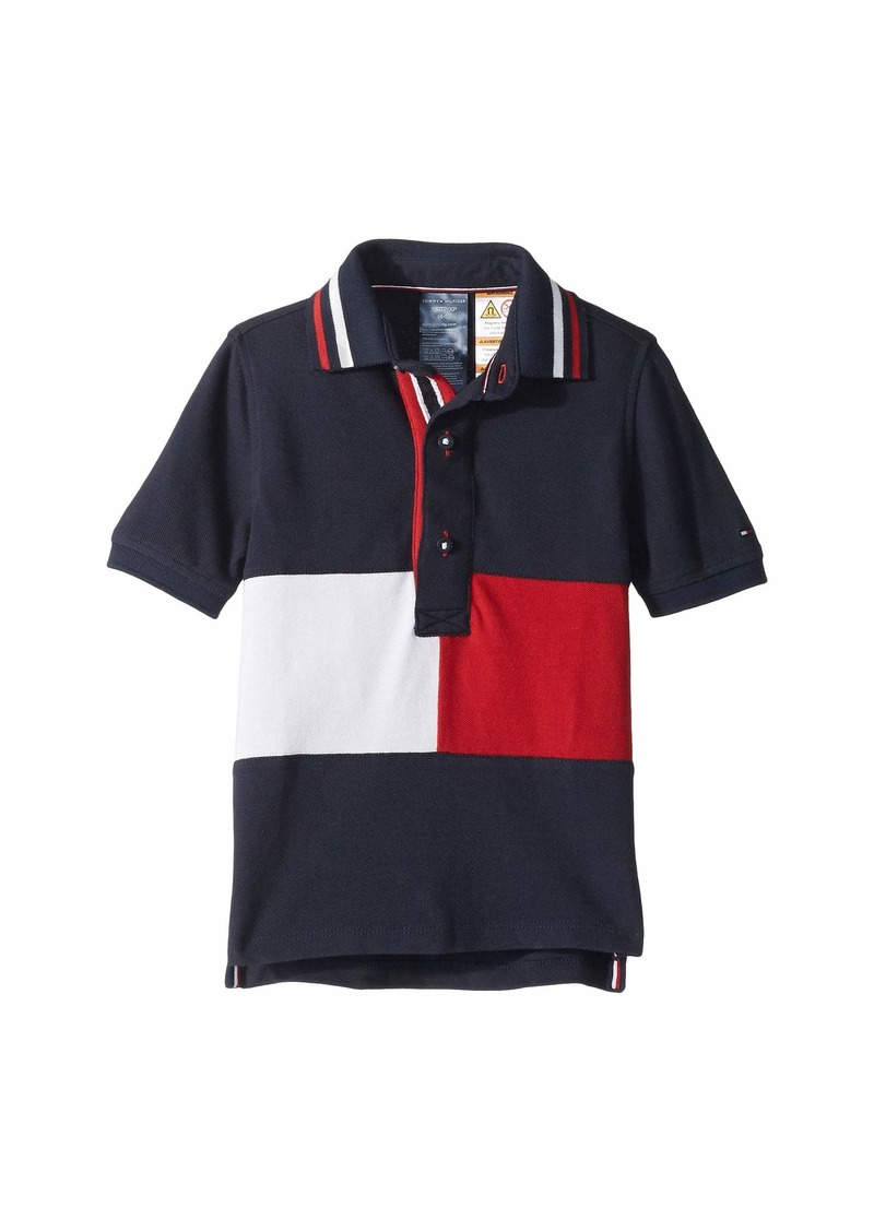 2b0b1f7f8 Tommy Hilfiger Polo Shirt with Magnetic Buttons (Little Kids/Big Kids)