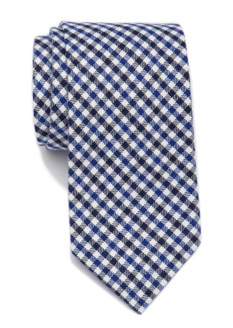 Tommy Hilfiger Preppy Micro Plaid Tie - XL