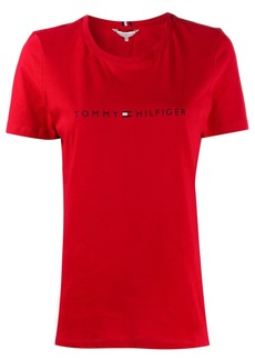 Tommy Hilfiger printed logo T-shirt