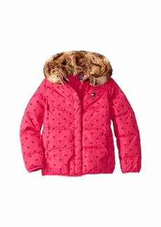 Tommy Hilfiger Puffer Jacket with Magnetic Buttons (Little Kids/Big Kids)