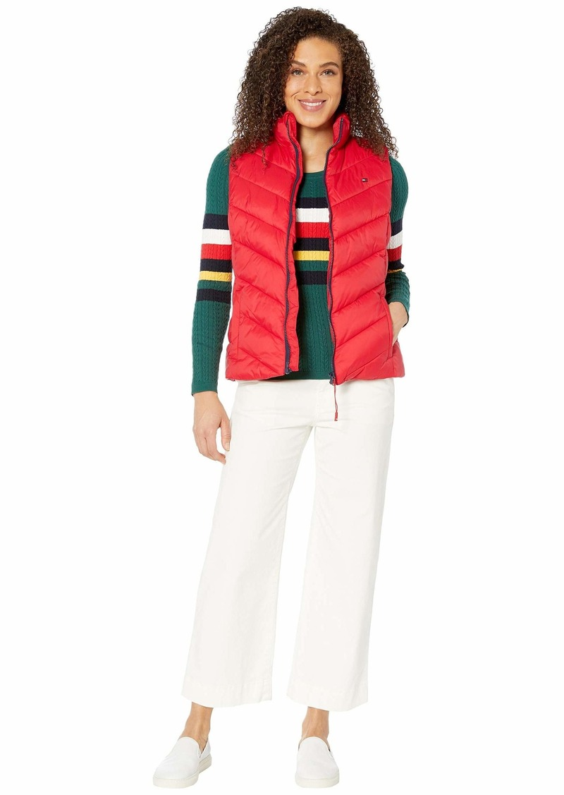 Tommy Hilfiger Puffer Vest with Magnetic Zipper