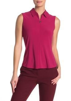 Tommy Hilfiger Quart Zip Sleeveless Shirt