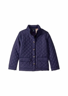 Tommy Hilfiger Quilted Jacket with Magnetic Buttons (Little Kids/Big Kids)