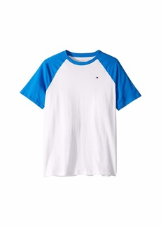Tommy Hilfiger Raglan Crew Neck Tee (Big Kids)