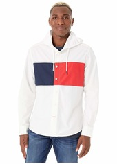 Tommy Hilfiger Regular Fit Hoodie Flag Shirt