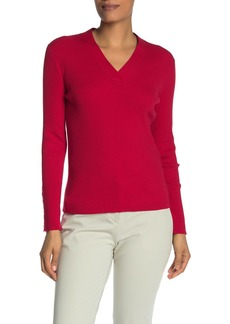 Tommy Hilfiger Ribbed Knit V-Neck Swaeter