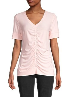 Tommy Hilfiger Ruched-Front Top
