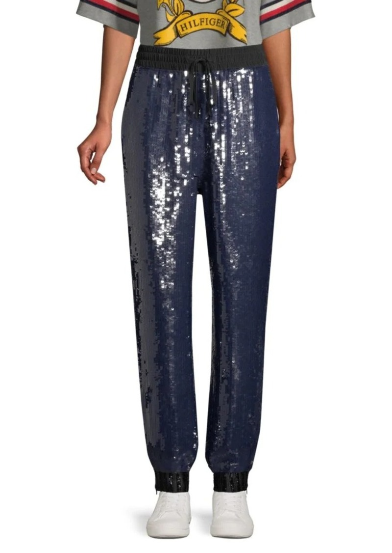 Tommy Hilfiger Sequined Track Pants