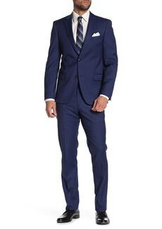 Tommy Hilfiger Sharkskin Slim Suit Jacket